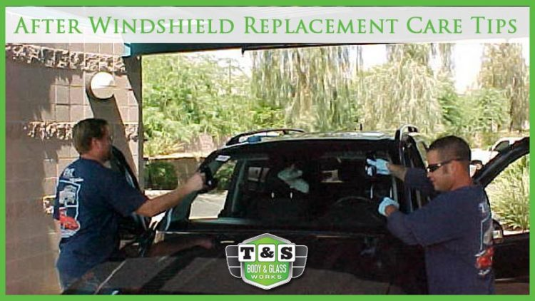 After Windshield Replacement Care Tips